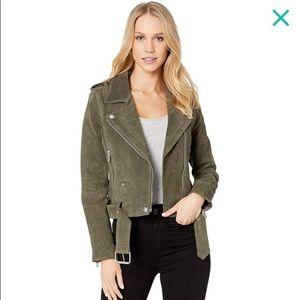 BLANK NYC 100% Suede Moto Jacket